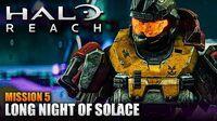 Halo Reach MCC PC Walkthrough - Mission 5 LONG NIGHT OF SOLACE (Sub ITA)