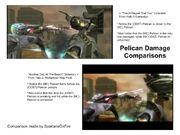 Pelican Damage Comparisons