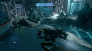 Gameplay del mantis en el nivel.