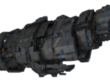 UNSC cruiser