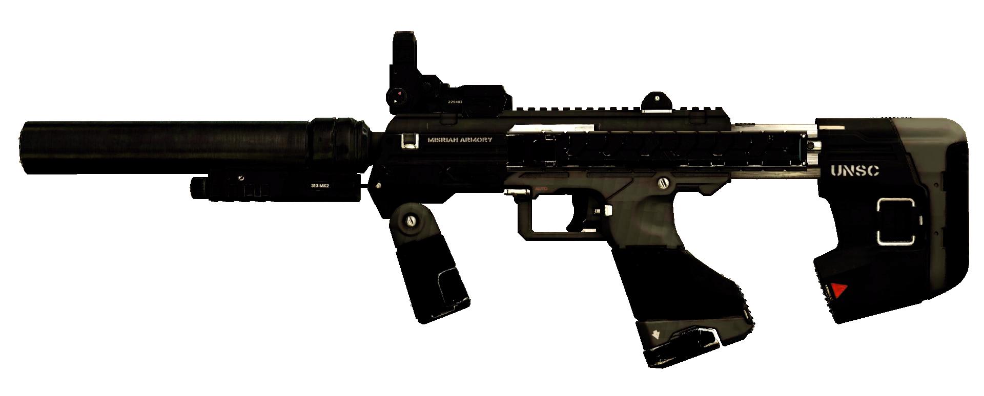 M7S Caseless Submachine Gun | Halo Alpha | FANDOM powered by Wikia