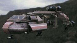 Halo Nightfall Bactrian Class Tug 1