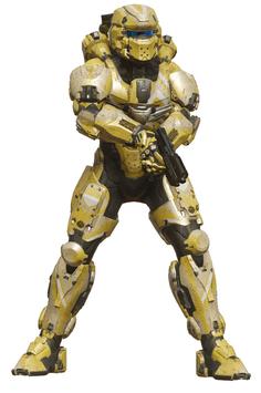 MJOLNIR Warrior render H5G