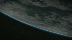 Algolis from space