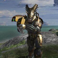 Brute Comandante da Guerra in Halo 3