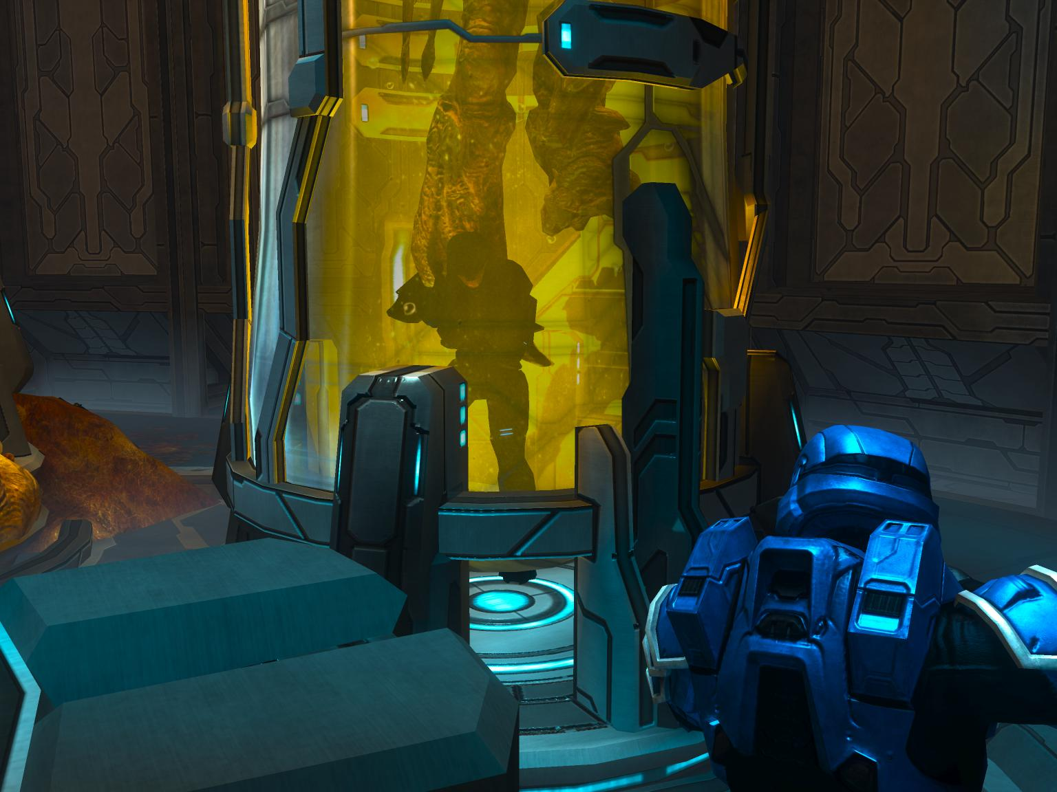 A player stuck inside the test tube. & Cold Storage | Halo Nation | FANDOM powered by Wikia