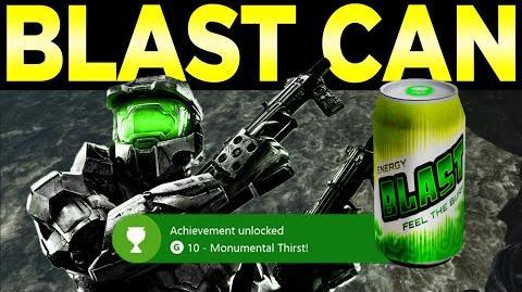 Remnant Blast Can - Monumental Thirst Achievement (Halo-Halo 2 Anniversary - BLAST Soda Can Location