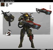 Comandante Jerome concepto HW2