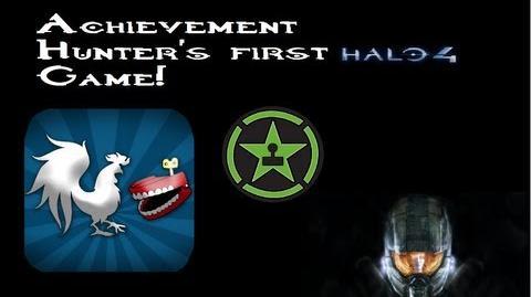 Achievement Hunter's first halo 4 game! - Unseen footage