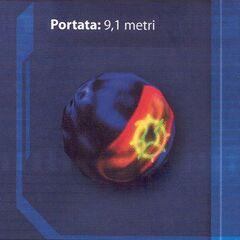 La portata di una granata al plasma