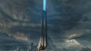 Atalaya desprendiendo energia