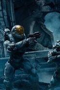 Kelly Halo 5 artwork