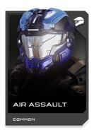 H5G REQ card Casque-Air Assault