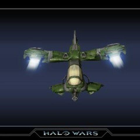 Das Hornet-Modell in Halo Wars