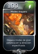 Blitz - UNSC - Capitán Cutter - Poder - Misiles arquero