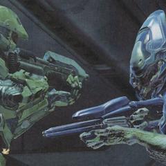 Elite in Halo 4 contro il Chief