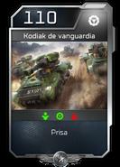 Blitz - UNSC - Sargento Forge - Unidad - Kodiak de vanguardia