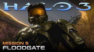 Halo 3 PC Walkthrough - Mission 5 FLOODGATE (Sub ITA)