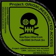 Logotipo ORION Johnson