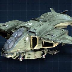 Pelican Gunship