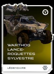 H5G REQ Card Warthog lance-roquettes sylvestre