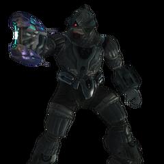 Un Brute Cacciatore in Halo 3
