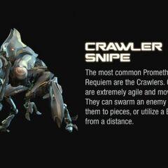 Un Crawler Snipe