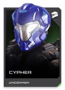 H5G REQ card Cypher-Casque