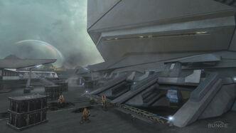 Halo Reach Courtyard