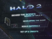 Halo 2 DVD Menu