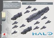 Halo Fleet Battles Grupo Leviathan