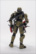 CP Halo 2 Anniversary Figure Rear