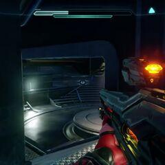 Das Lichtgewehr in Halo 5 Beta Multiplayer aus der Ego-Perspektive
