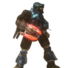 Un Brute Jump Pack Minore in Halo 3: ODST
