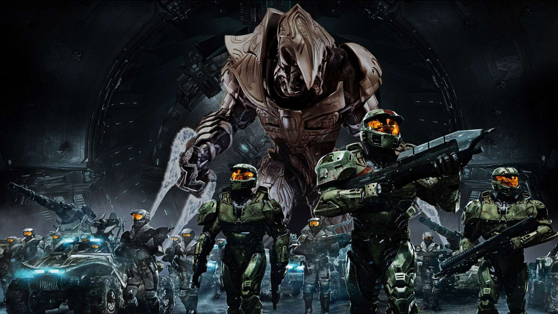 Image CoolHaloArmyHDWallpaperjpg Halo Nation FANDOM