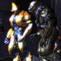 L'Arbiter e un Brute in Halo 2
