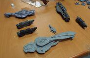 Halo Fleet Battles modelos