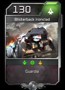 Blitz - Desterrado - Pavium - Unidad - Blisterback ironclad