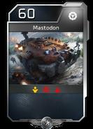 Blitz - UNSC - Comandante Jerome - Unidad - Mastodon