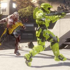 Bildschirmaufnahme aus dem Spieltyp