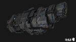 H2A CinematicRender MarathonHeavyCruiser-Front