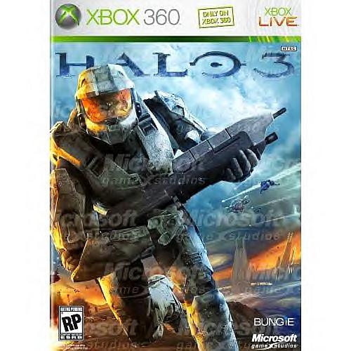 Halo 3 box art off amazon