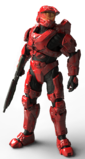 H5GMB Armor Mark VI GEN1 Scarred