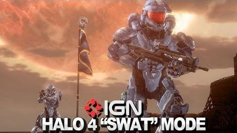 Halo 4 SWAT Mode Walkthrough With 343