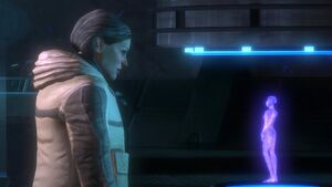 Halsey Halo Reach con Cortana