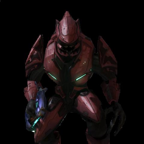 Ein Sangheili Major in Halo 3.