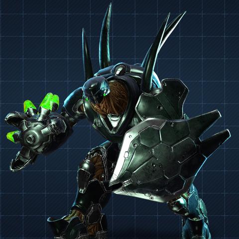 Halo 4: render Cacciatori
