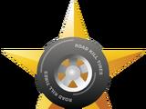 Splatter medal