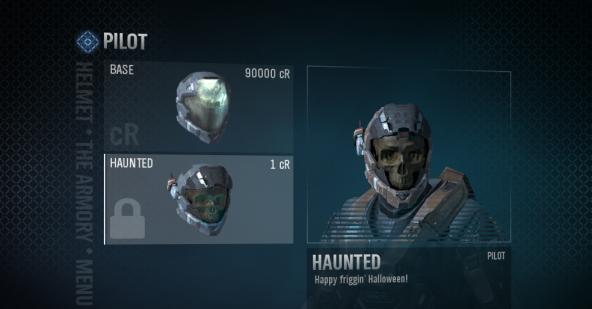 How To Get Haunted Helmet In Halo Reach