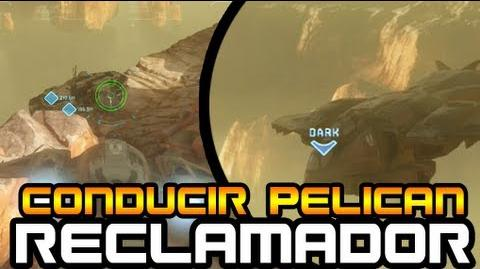 Halo 4 - Como conducir Pelican en la mision Reclamador!-1